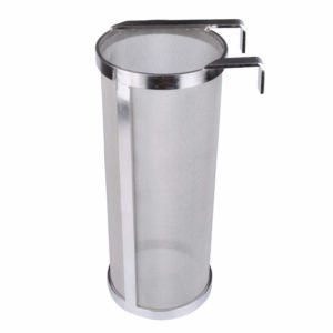 Outamateur 300 Micron Filter Stainless Steel Mesh Dry Hopper Brewing Filter Tea Kettle Brew Filter for Homebrew of Beer Wine Coffee (3.9 x 9.8)
