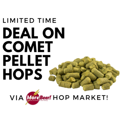 comet pellet hops