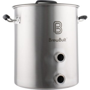 BrewBuilt™ Brewing Kettle with Tri-Clamp Fittings