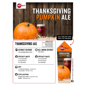 homebrew pumpkin ale