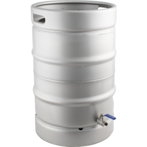 Keggle Homebrew Kettle - Converted Stainless Keg (15.3 gal) KEG995
