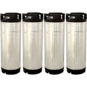 Four Race Track Style Ball Lock Kegs