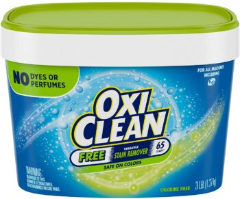 OxiClean Versatile Stain Remover Free, 3 lbs.