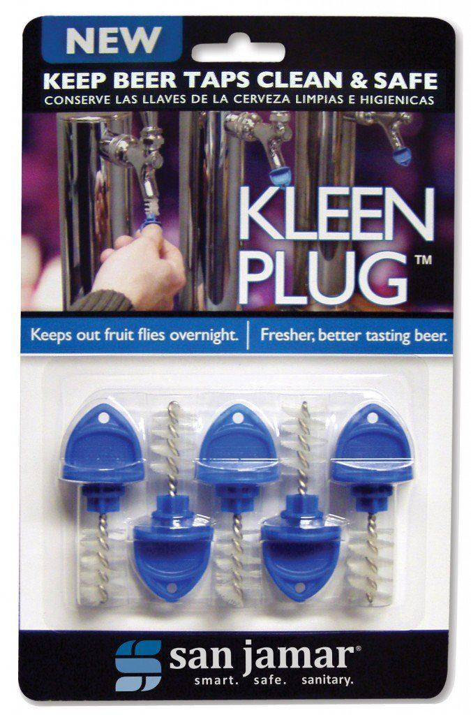 San Jamar KLP200 Kleen Overnight Beer Tap Plug