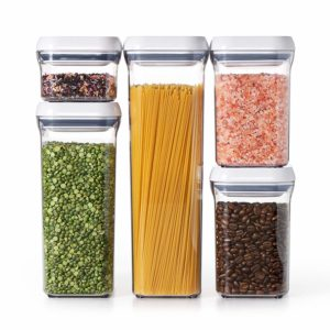 OXO Good Grips 5-Piece Airtight POP Container Set