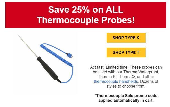 thermocouple probe sale