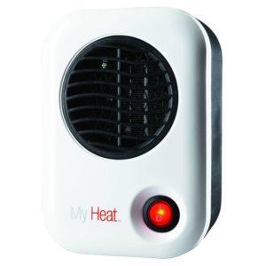 Lasko 101 My Heat Personal Heater, White, Compact