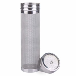 Freehawk Dry Hopper Brewing Filter 300 Micron Mesh Stainless Steel Filter Tea Kettle Brew Filter Beer Strainer for Homebrew of Beer Wine Coffee (2.9 x 11.8 inch)