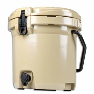 SuperHandy Cooler Rotomolded Enhanced Wheeled Ice Cooler (Water Cooler, 45QT, 45QT Cooler with Wheels) (Water Cooler)