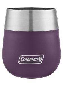 Coleman Claret Insulated Stainless Steel Wine Glass