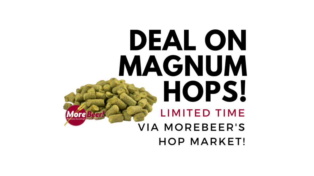 magnum homebrew hop deal