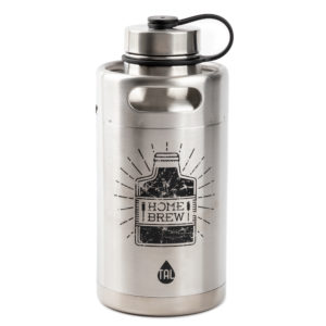 Tal 64 oz Stainless Steel Insulated Water Bottle and Growler