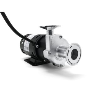 X-Dry Series Tri-Clamp Chugger Pump (Center Inlet) - Stainless Steel