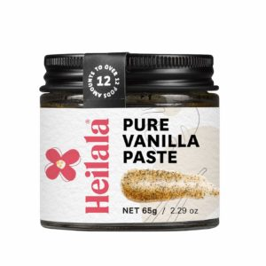 Vanilla Bean Paste for Baking - Heilala Vanilla, the Choice of the Worlds Best Chefs & Bakers, Using Sustainable, Ethically Sourced Vanilla, Multi-Award Winning, Hand-Picked from Polynesia, 2.29 oz
