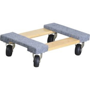 Ironton Carpeted Mover's Dolly — 1,000-Lb. Capacity, 18in.L x 12in.W