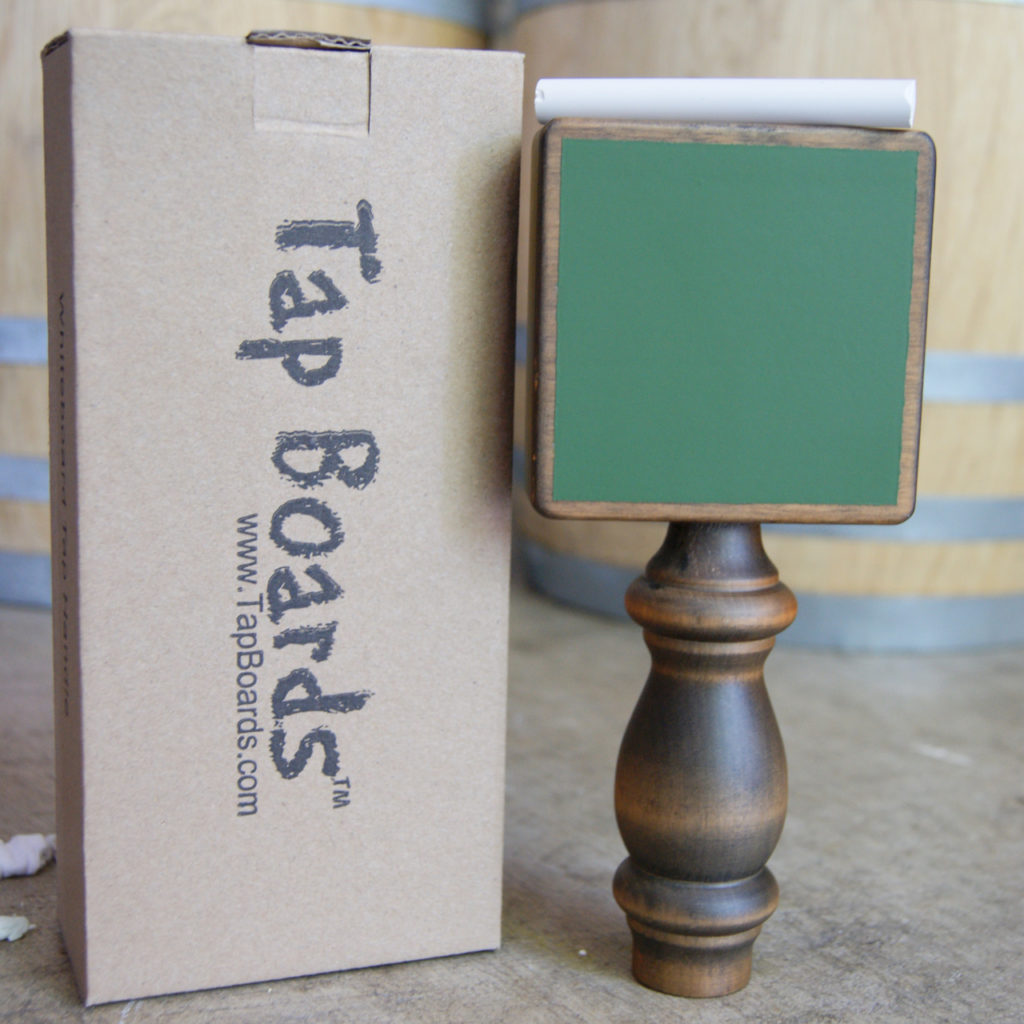 Tap Handle - Antique Green Chalk Board
