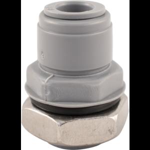 Duotight Push-In Bulkhead - 9.5 mm (3/8 in.) x 1/2 in. BSP DUO124