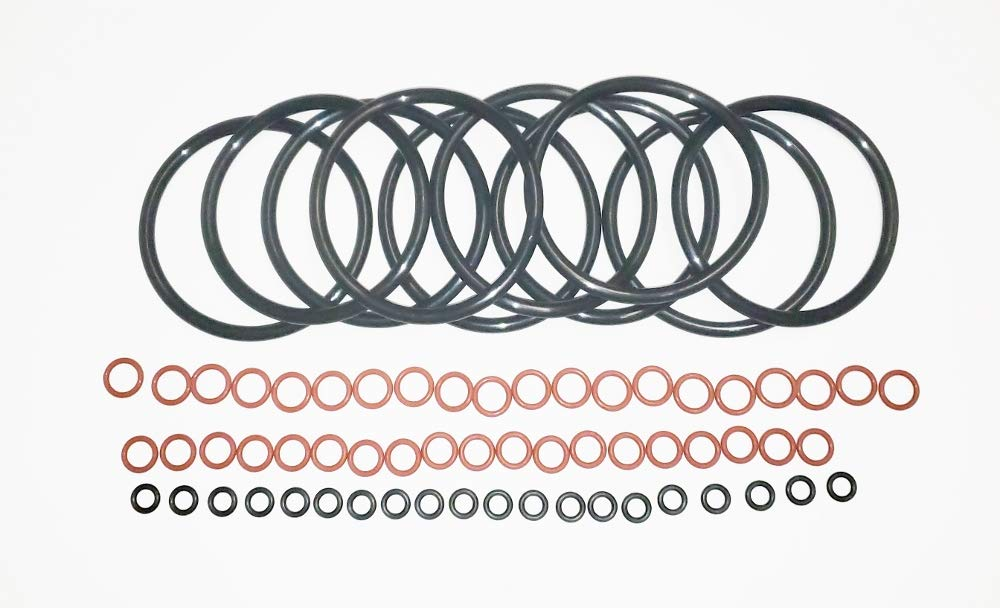 Universal O-Ring Ten Gasket Sets for Home Brew Kegs With Silicone Post O-Rings