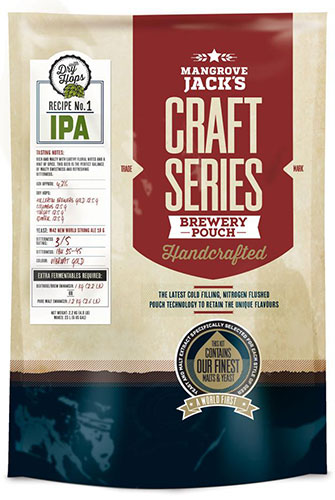India Pale Ale with Dry Hops Brewery Pouch