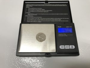 Tip Use A Us Nickel As A Calibration Weight Homebrew Finds