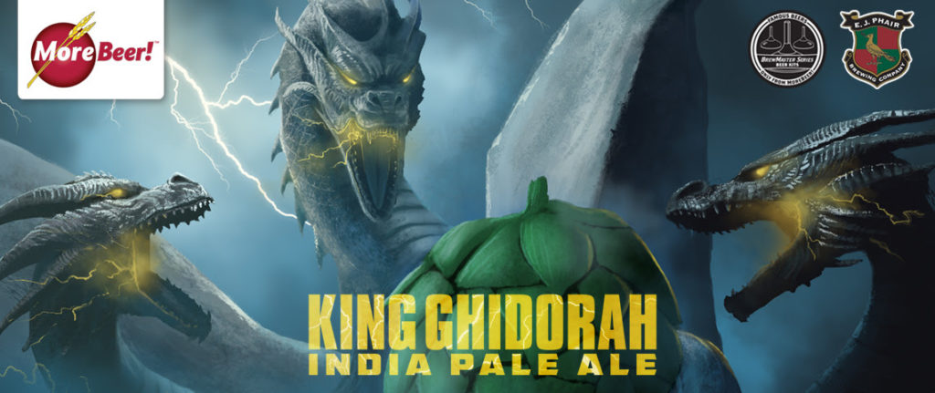 New Recipe Kit: King Ghidorah!