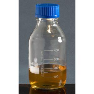 reagent bottles