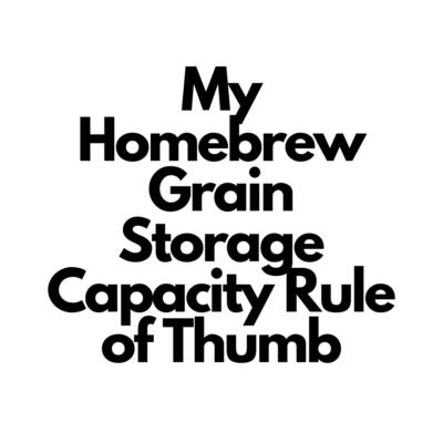 malt storage capacity