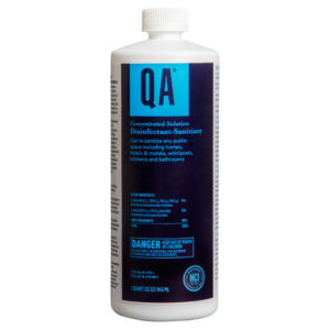 QA Concentrated Sanitizing Solution - Surface Cleaner