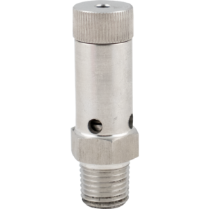 Adjustable Stainless Gas Pressure Relief - 1/4 in. MPT D1833L