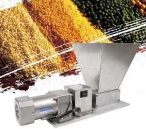 GDAE10 Electric Grain Mill Grain Grinder with 2 Roller Barley Grinder Malt Crusher Malt Mill Home Brew Mill