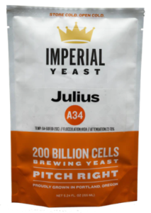 IMPERIAL YEAST: A34 JULIUS