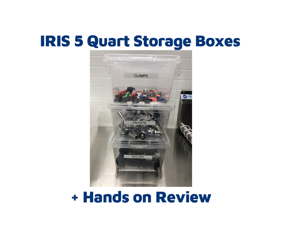 iris 5 quart storage boxes