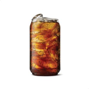 TOSSWARE 12oz SET OF 12, Recyclable, Unbreakable & Crystal Clear Plastic Beer Can