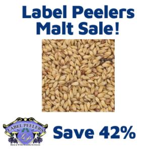 labelpeelers.com malt sale