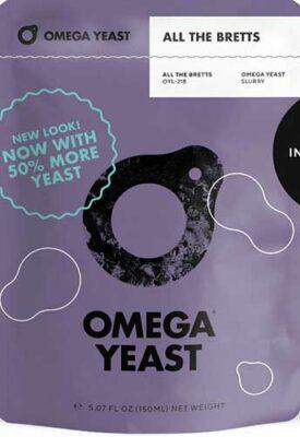 Omega Yeast 218 All The Bretts