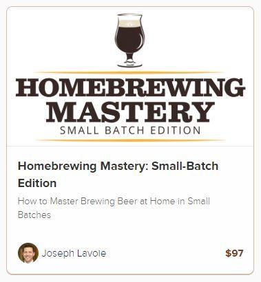 small batch homebrew class