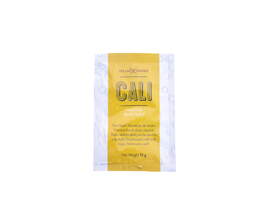 CALI Dry Yeast 12g - CellarScience