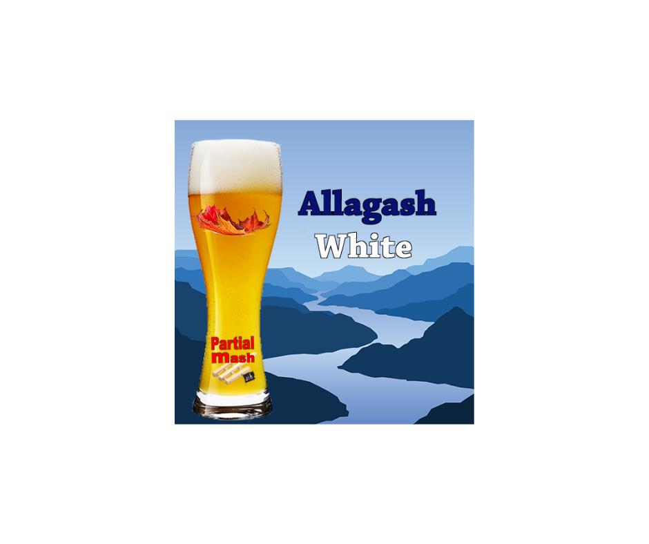 allagash white clone recipe