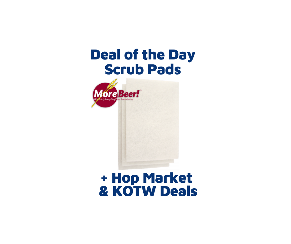 White Scrub & Scouring Pads - 3 Count CE27