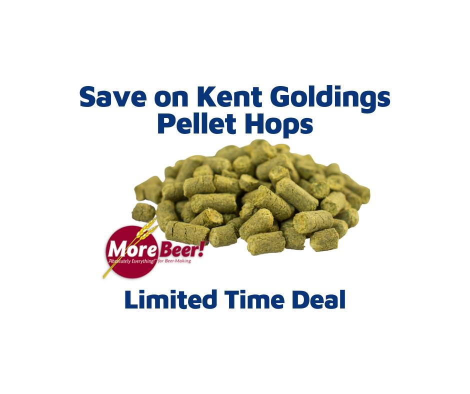 Kent Goldings Pellet Hops 1 lb