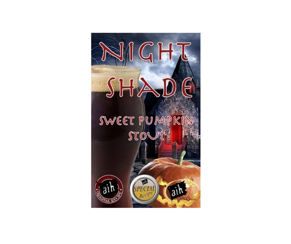 night shade sweet pumpkin stout