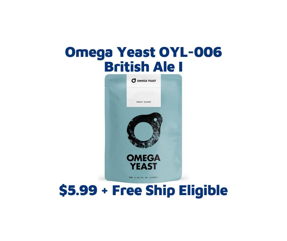 Omega Yeast 006 British Ale I