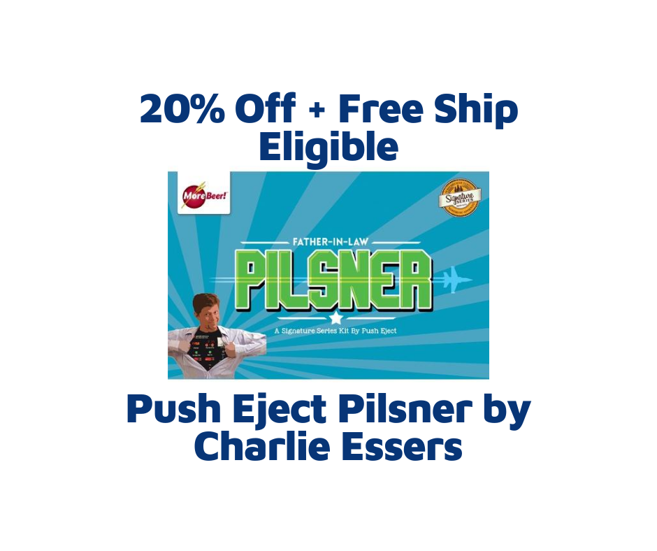 Push Eject Pilsner by Charlie Essers