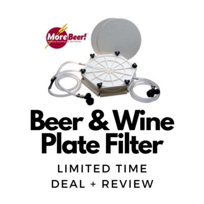 homebrew wine plate filter