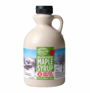 Butternut Mountain Farm Pure Maple Syrup From Vermont, Grade A (Prev. Grade B), Dark Color, Robust Taste, All Natural, Easy Pour, 32 Fl Oz, 1 Qt