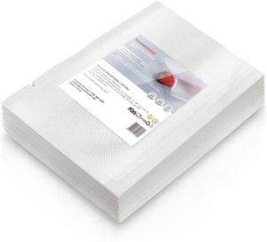 100 Quart Vacuum Sealer Storage Bags 5x9.8 inches,Heavy Duty,Commercial Grade Freezer & Sous Vide Vacuum Safe,Suitable for the other brand Vacuum Sealer Machine (VB8008)