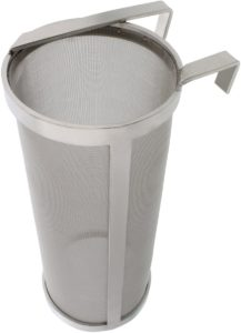 Brewing 4x10in Hopper Spider Strainer – Stainless Steel 300 Micron Mesh Homebrew Hops Beer & Tea Kettle Brew Filter
