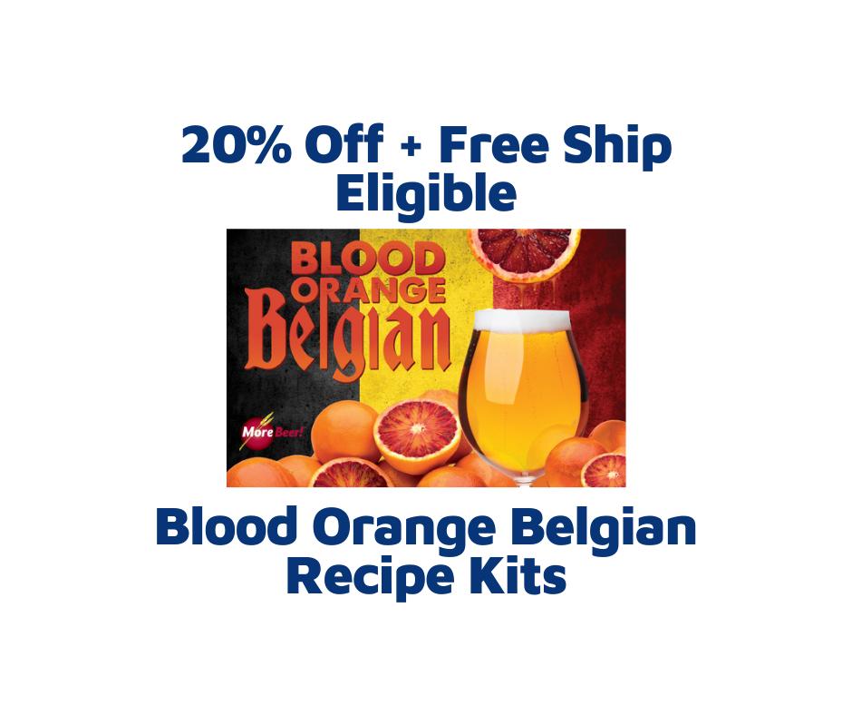 Blood Orange Belgian Homebrew