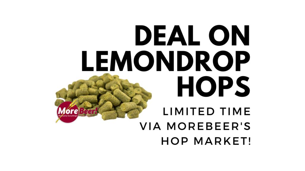 lemondrop pellet hops