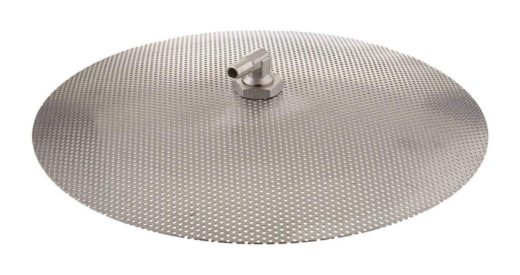 "Domed False Bottom (15"") ALL Stainless Steel for All Grain Brewing KROME C389"
